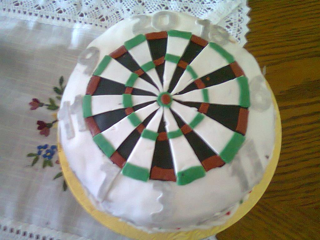 Darts Cake by Toni Lally