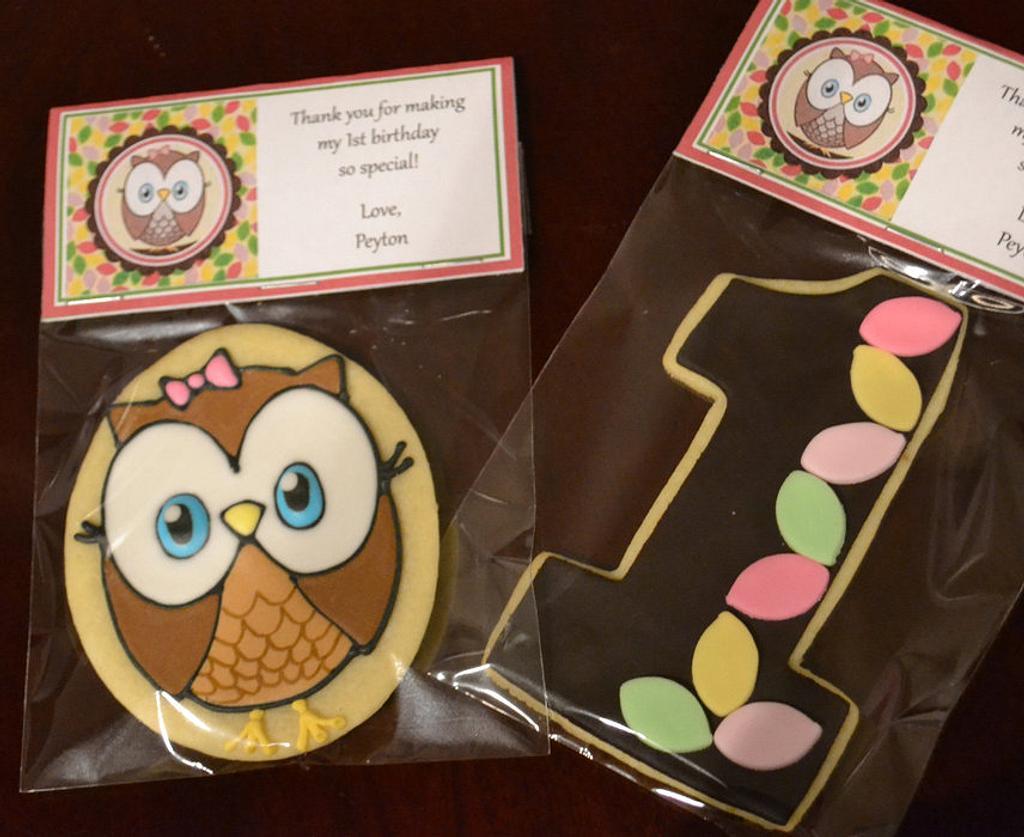 Look Whoooooo's One Cookies by Cookielady