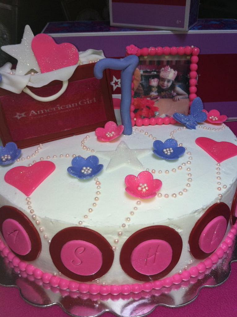 American Girl Birthday by SugarMommas Custom Cakes