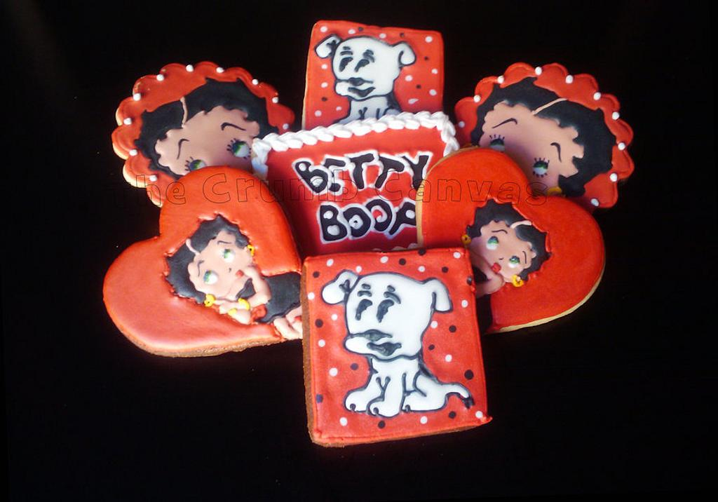Betty Boop Birthday Cookies by Alexis M