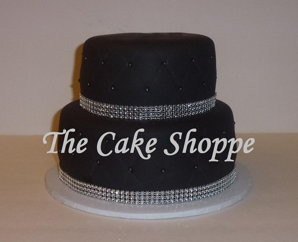 quilted bling cake by THE CAKE SHOPPE