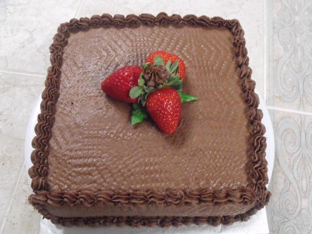 Chocolate Cake by Aida Martinez