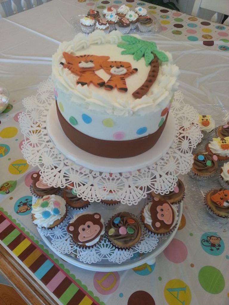 Jungle Babies by Donna Tokazowski- Cake Hatteras, Hatteras N.C.