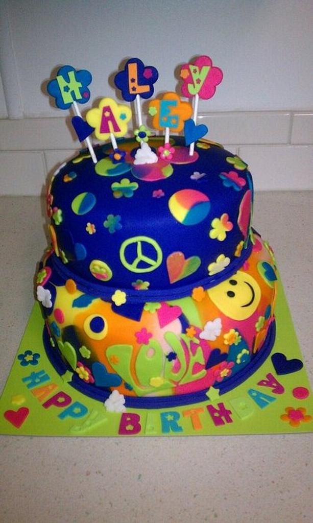 Groovy Cake by Peggy