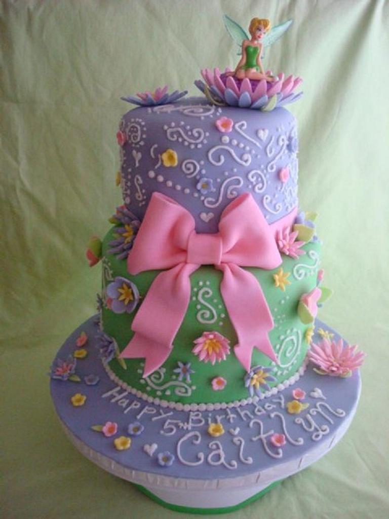 Tinkerbell Cake by Nessa Dixon