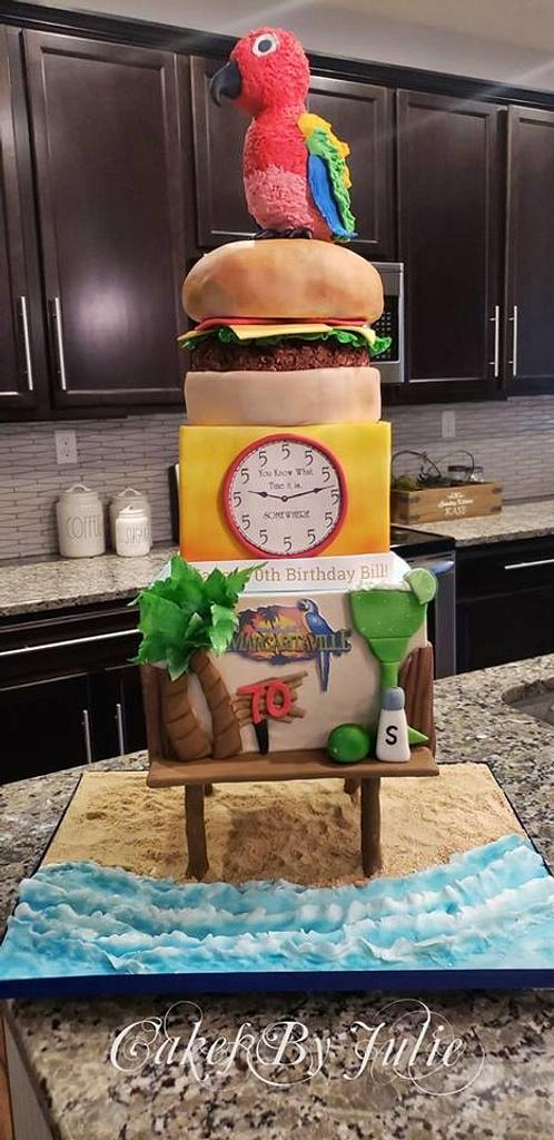 Jimmy Buffet Cake! by Cakes By Julie