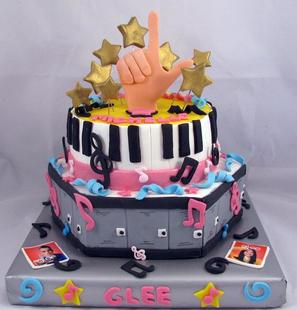 Glee cake by Cheryl