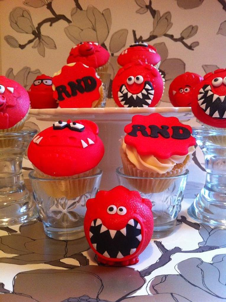 Red Nose Cuppies  by Chrissy Faulds