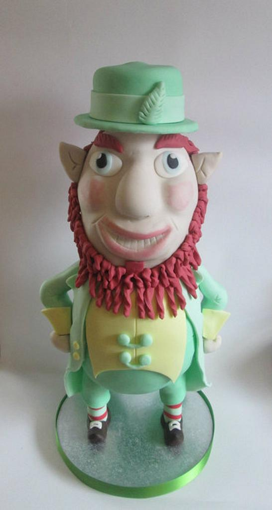 leprechaun cake by kelly