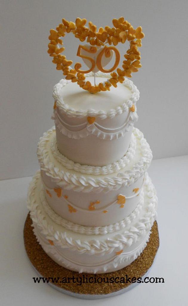 50 years wedding anniversary by iriene wang