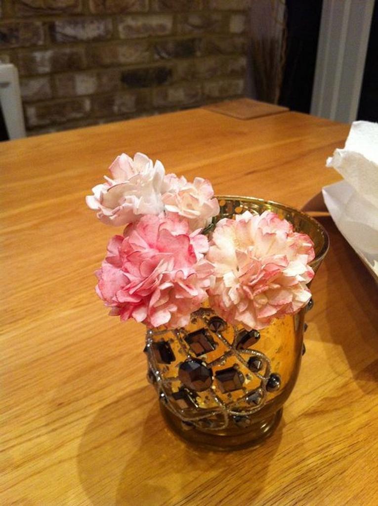 Sugar Carnations by Sarah Al-Masrey