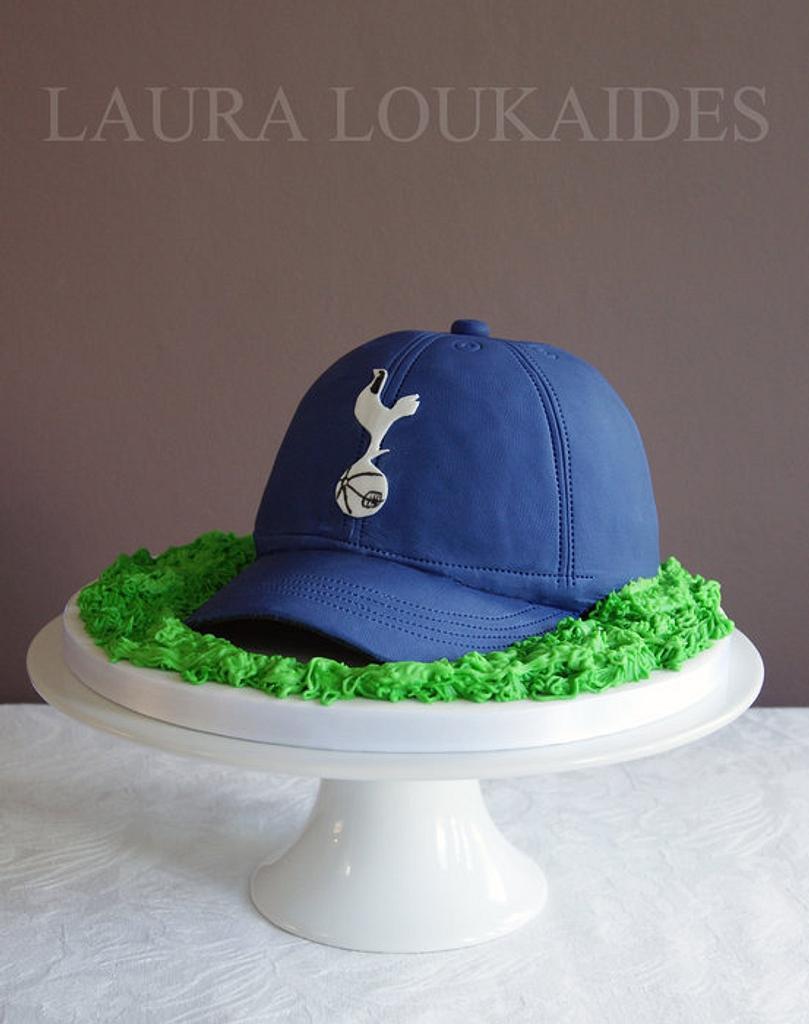 Tottenham Hotspur Hat Cake Cake By Laura Loukaides Cakesdecor