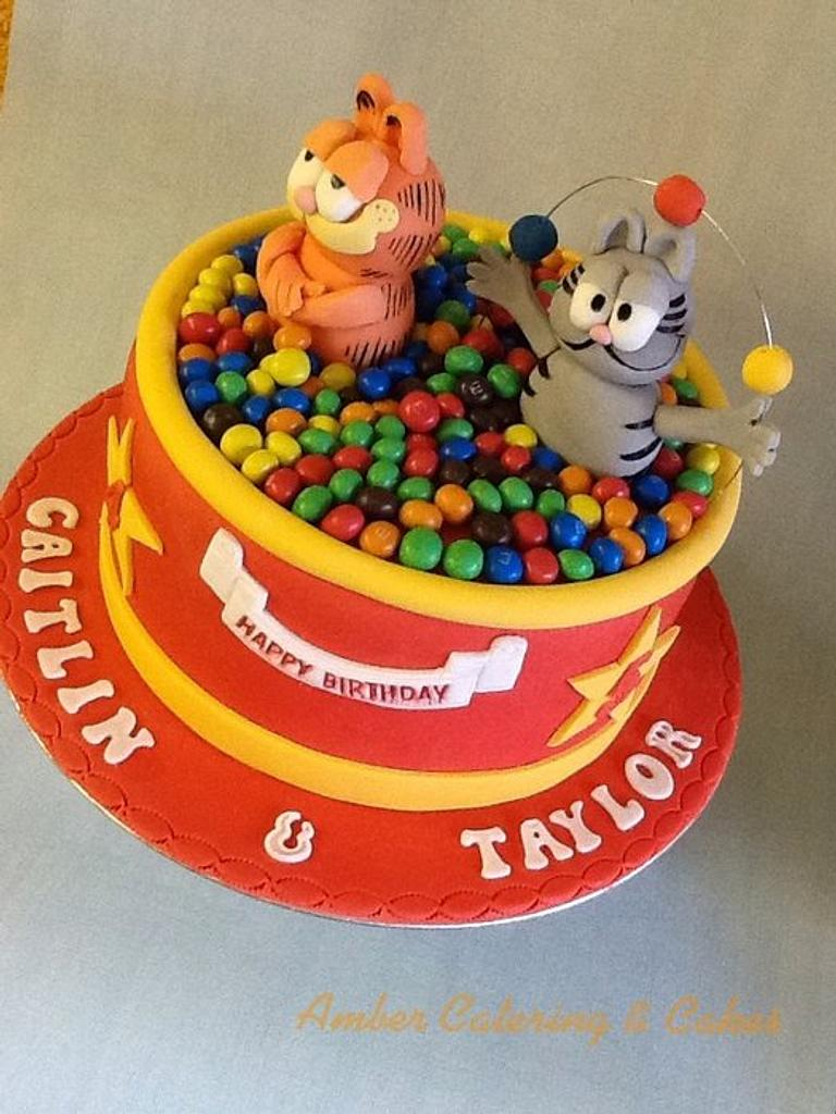 Garfield and Nermal ball pool by Amber Catering and Cakes