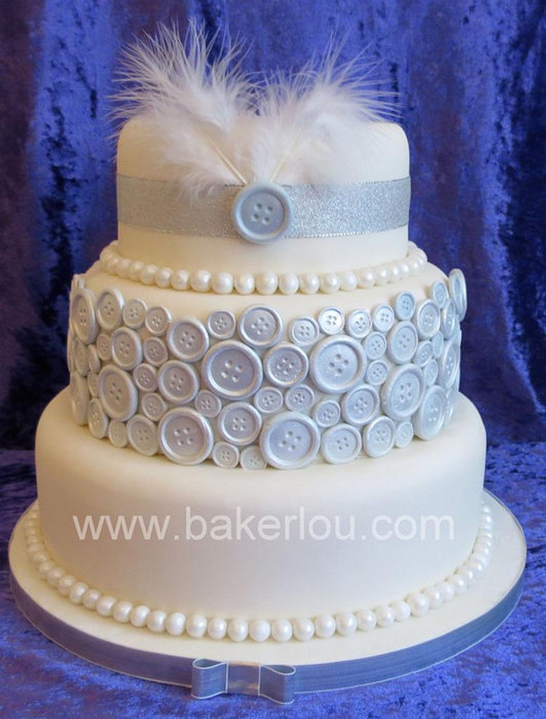 1920's Flapper Inspired Cake by Louise