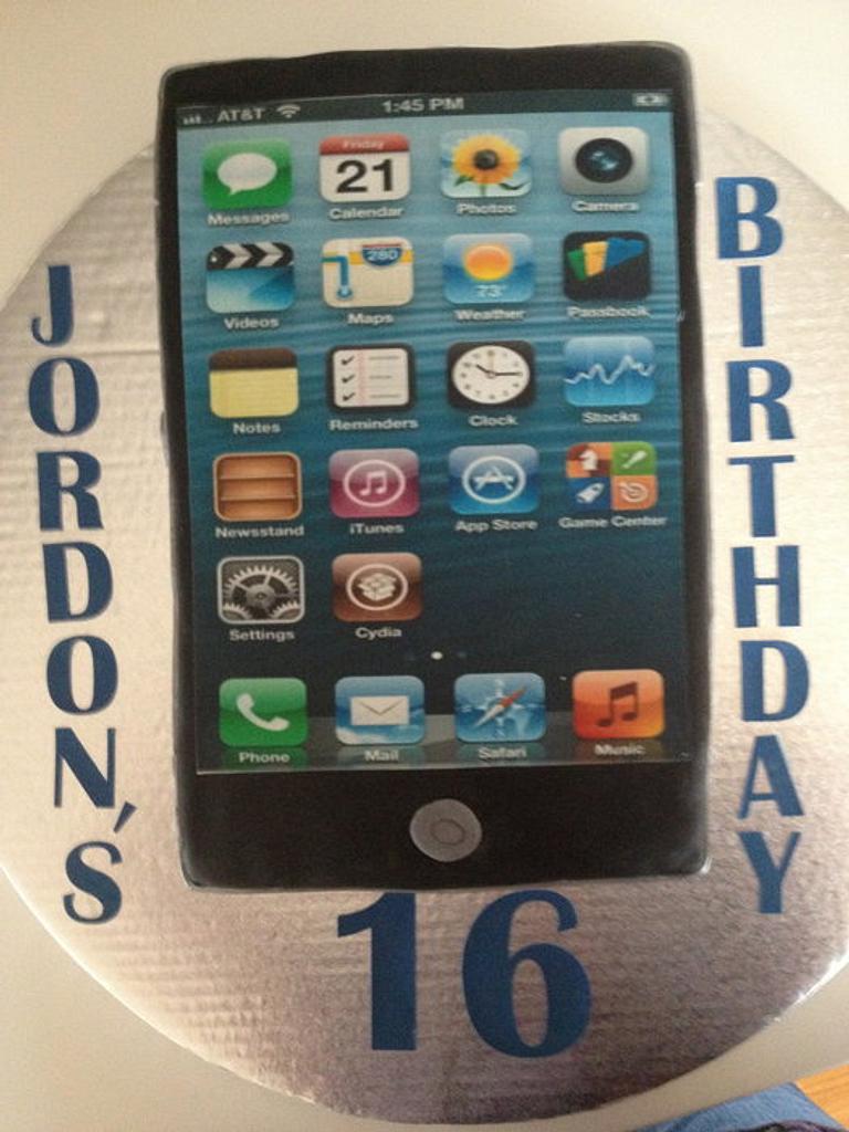 """Jordon's 16th Birthday Cake"" by Ninetta O'Connor"