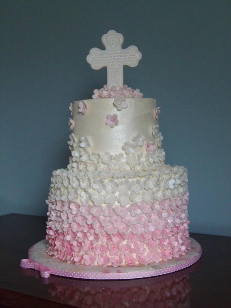 Erika's Communion Cake by SISA