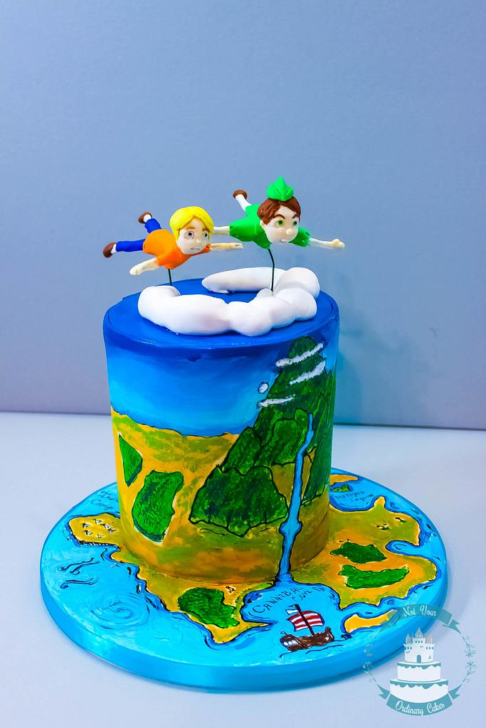 Peter pan cake by Not Your Ordinary Cakes