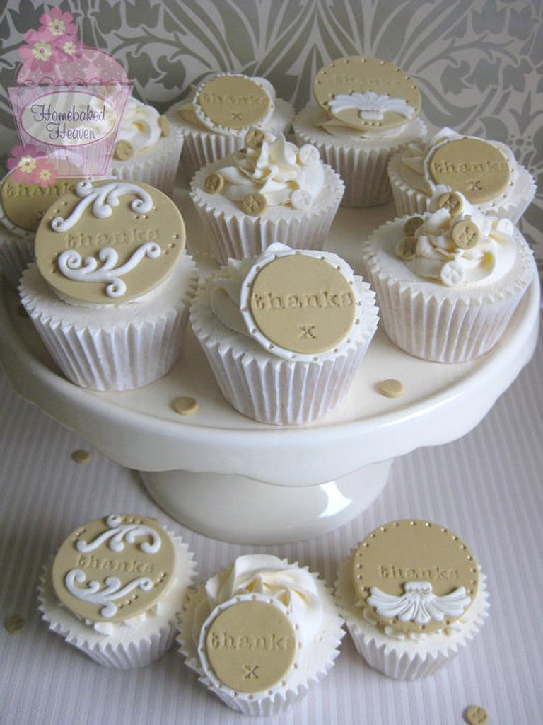 Thank you x by Amanda Earl Cake Design