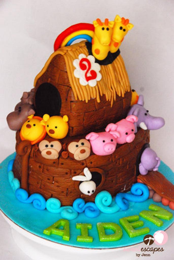 Noah's Ark Cake by Jenn Chao