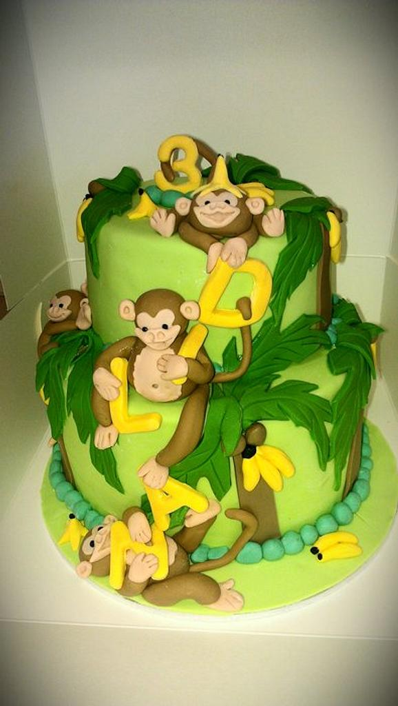 monkey mania by jodie baker