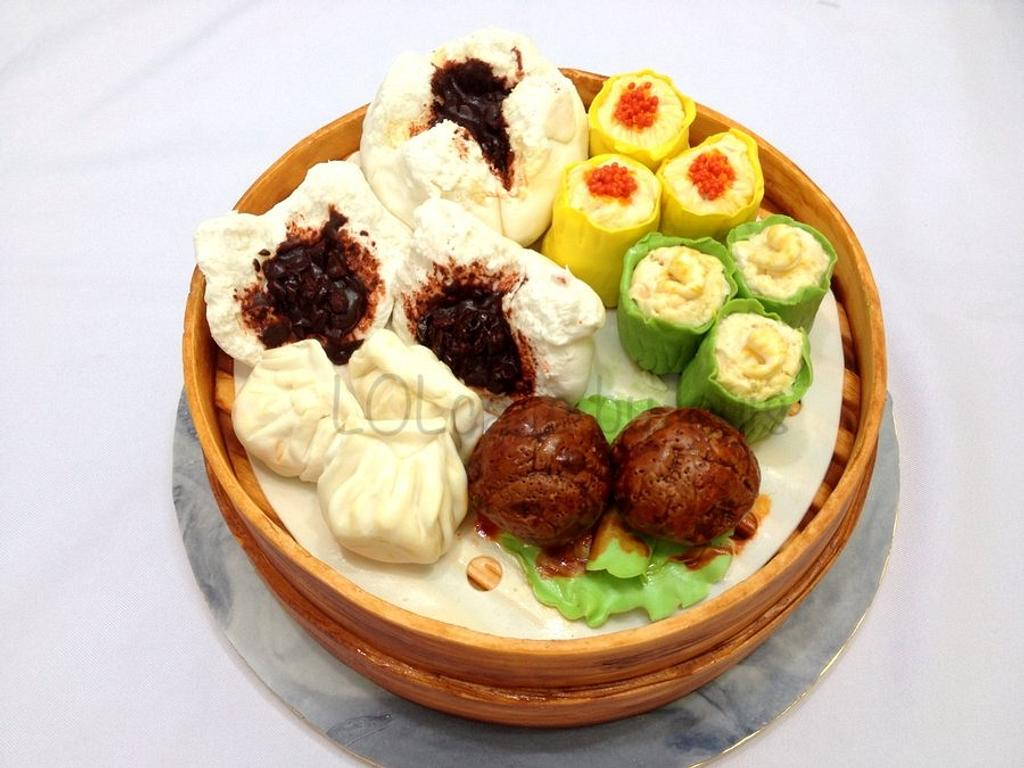 Delicious Dim Sum by Louis Ng