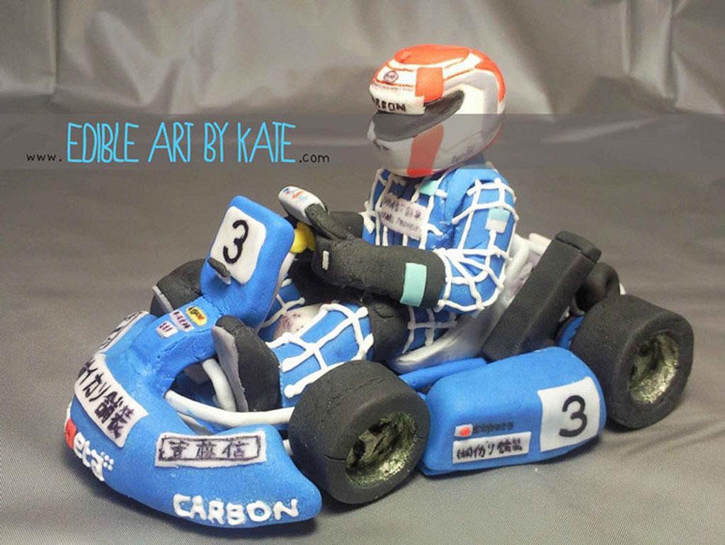 Capeta - Race Kart Topper by Kate Lau
