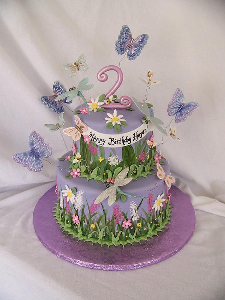 Butterfly Garden by TrulyCustom