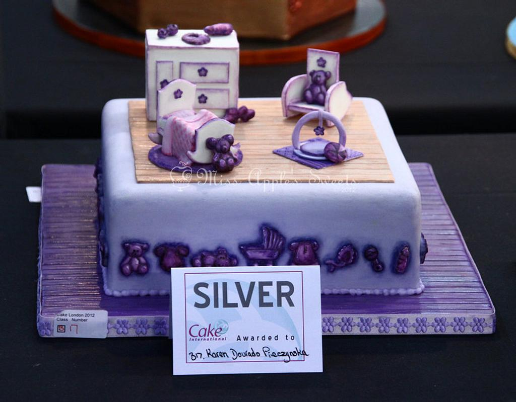 Nursery Room Cake by Karen Dourado