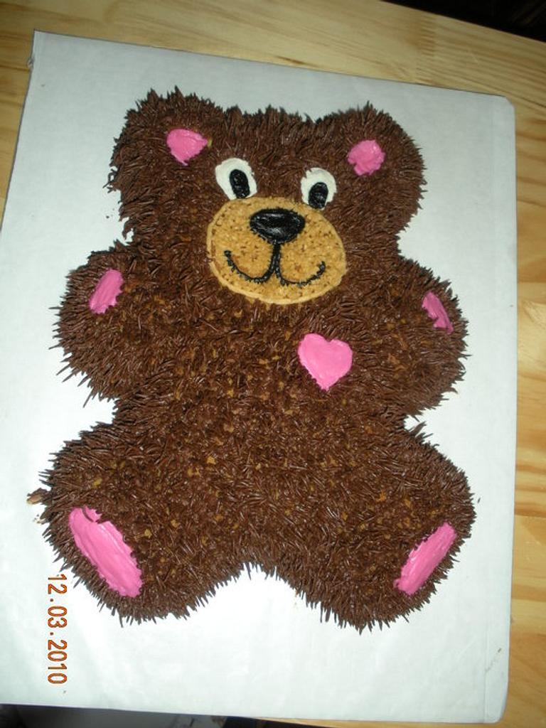 Bear cake by Kimberly