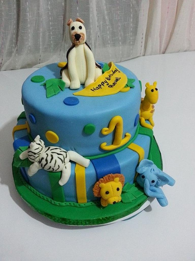 Jungle cake by SerwaPona