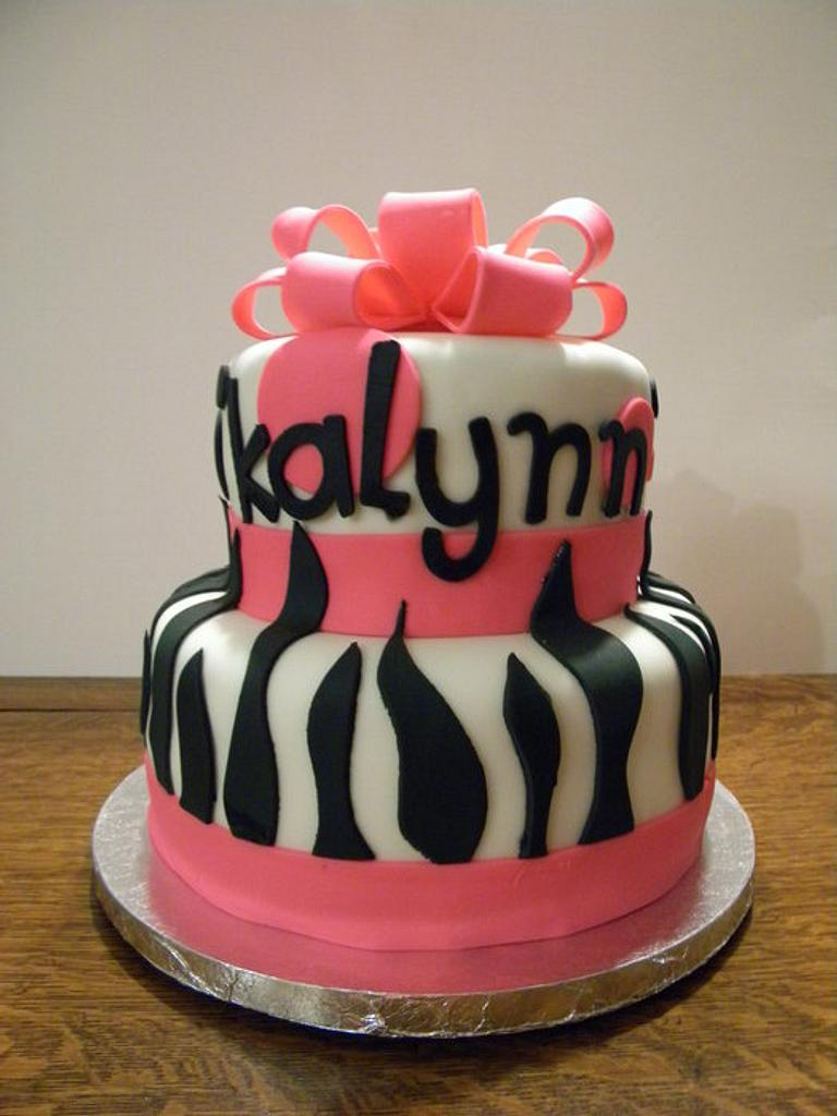 Hot Pink & Zebra by Christy McClure