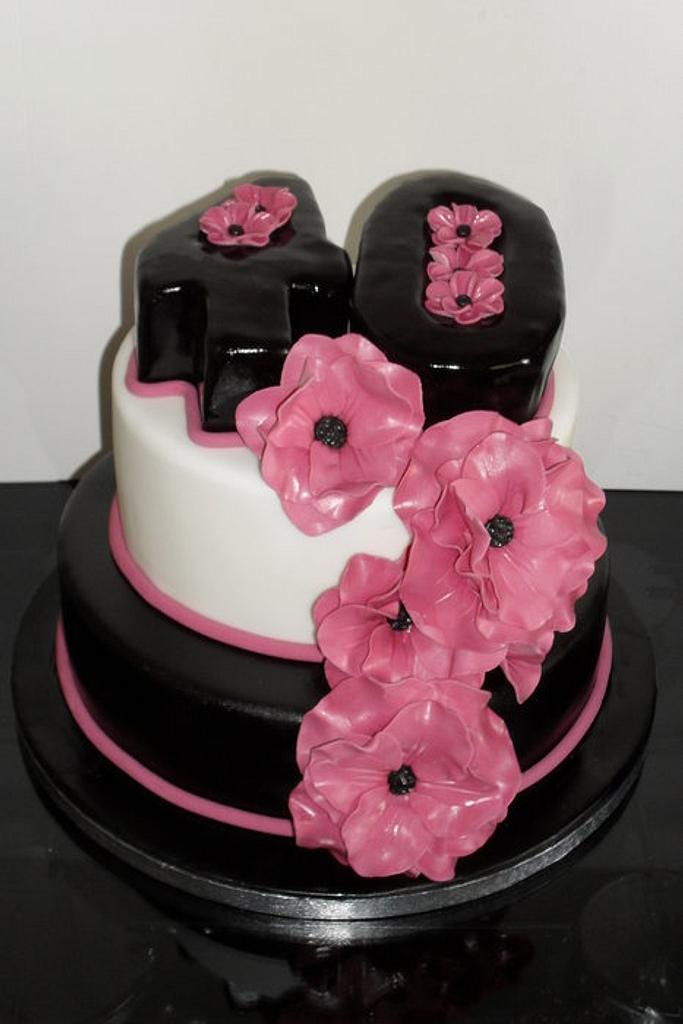40th Birthday Cake by David Mason