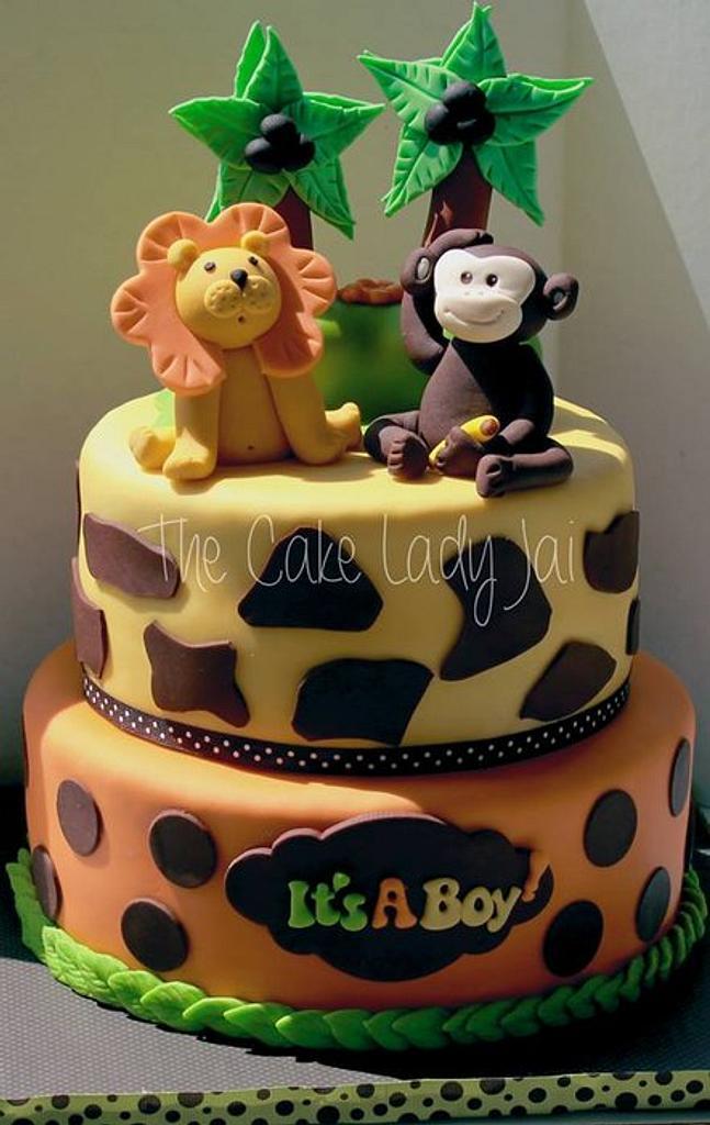 Funfari (Safari) baby shower  by Jai Mobley