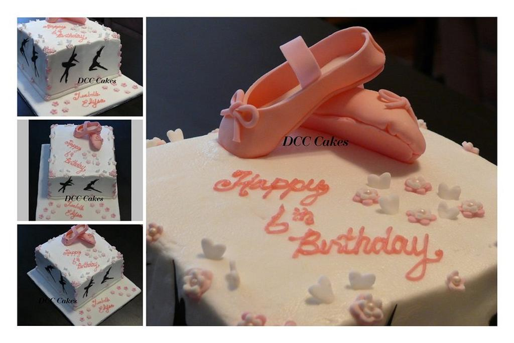 Ballet Shoes by DCC Cakes, Cupcakes & More...