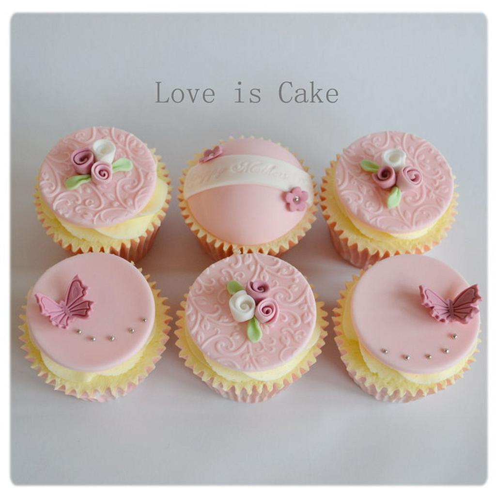Mother's day Cupcakes  by Helen Geraghty