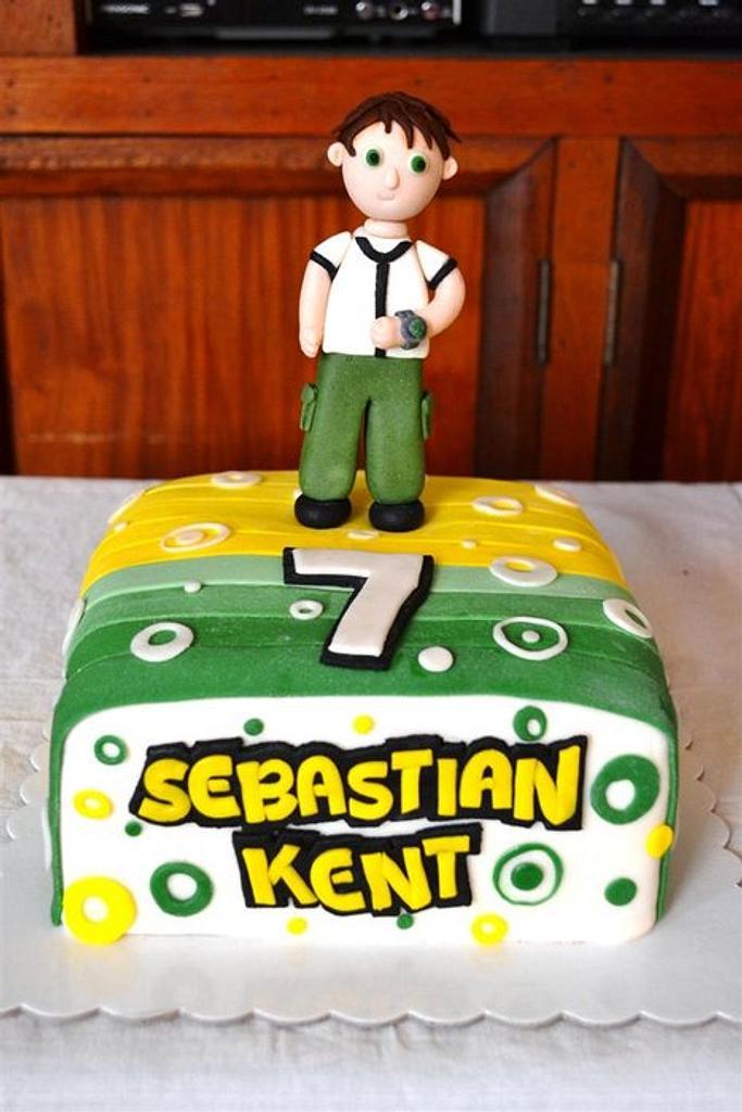 Ben10 cake by SweetFavorsByPerlita