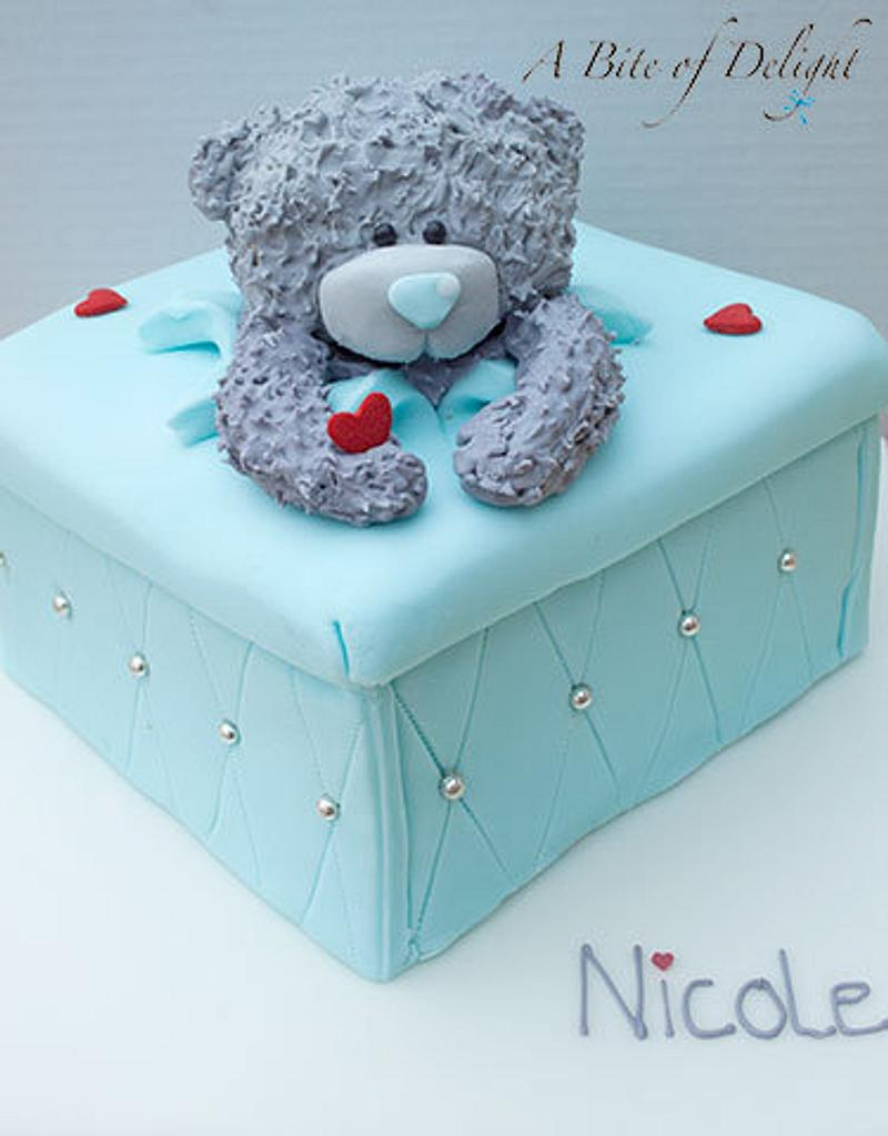 Tatty Teddy Bear Cake by Melanie