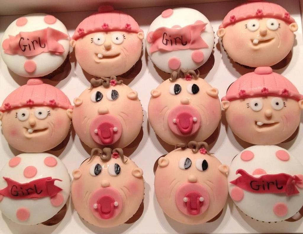 more baby cupcakes! by Mandy