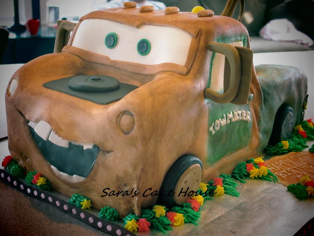 Tow Mater by Sara's Cake House