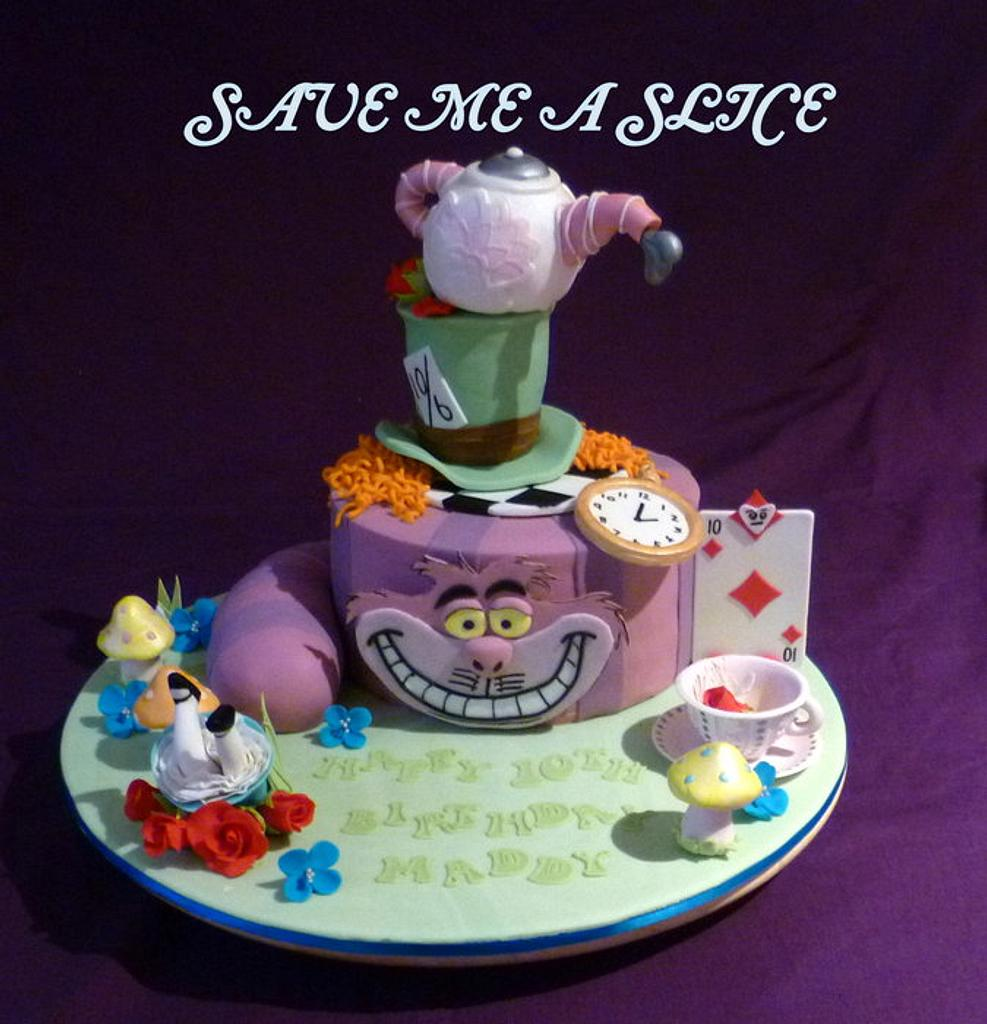 Alice in Wonderland  by vicky pollen
