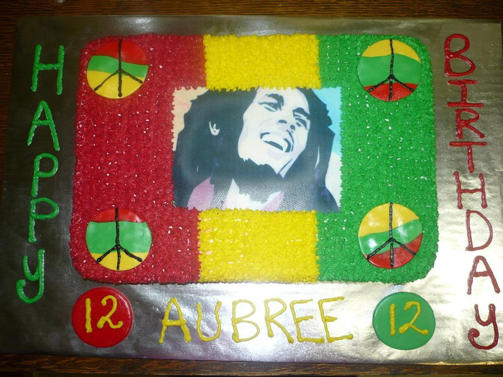 Bob Marley by Ashley