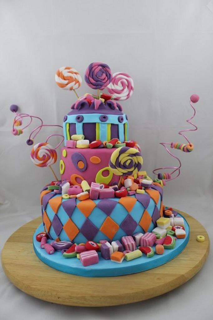 Candy Cake by Helen Campbell