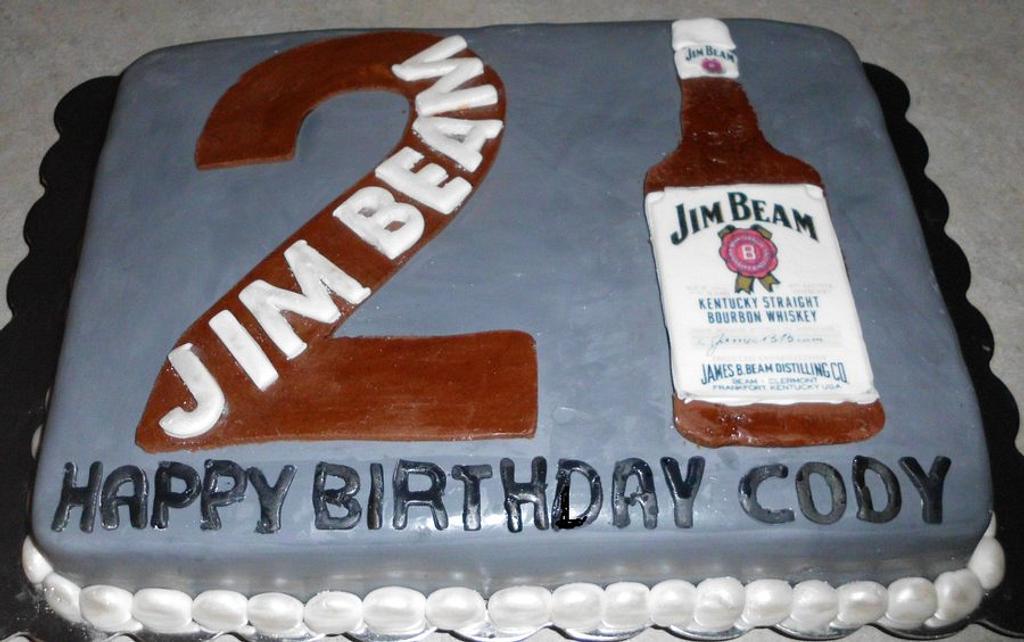 Jim Beam Cake by Carrie Freeman