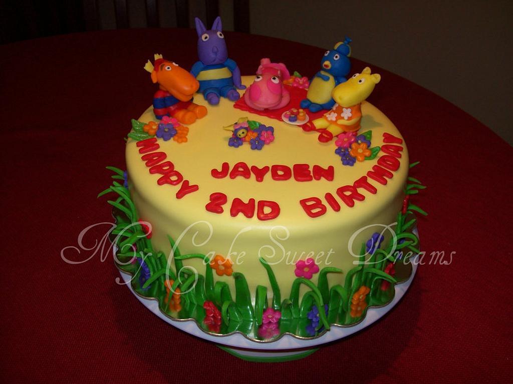 Backyardigans Cake by My Cake Sweet Dreams