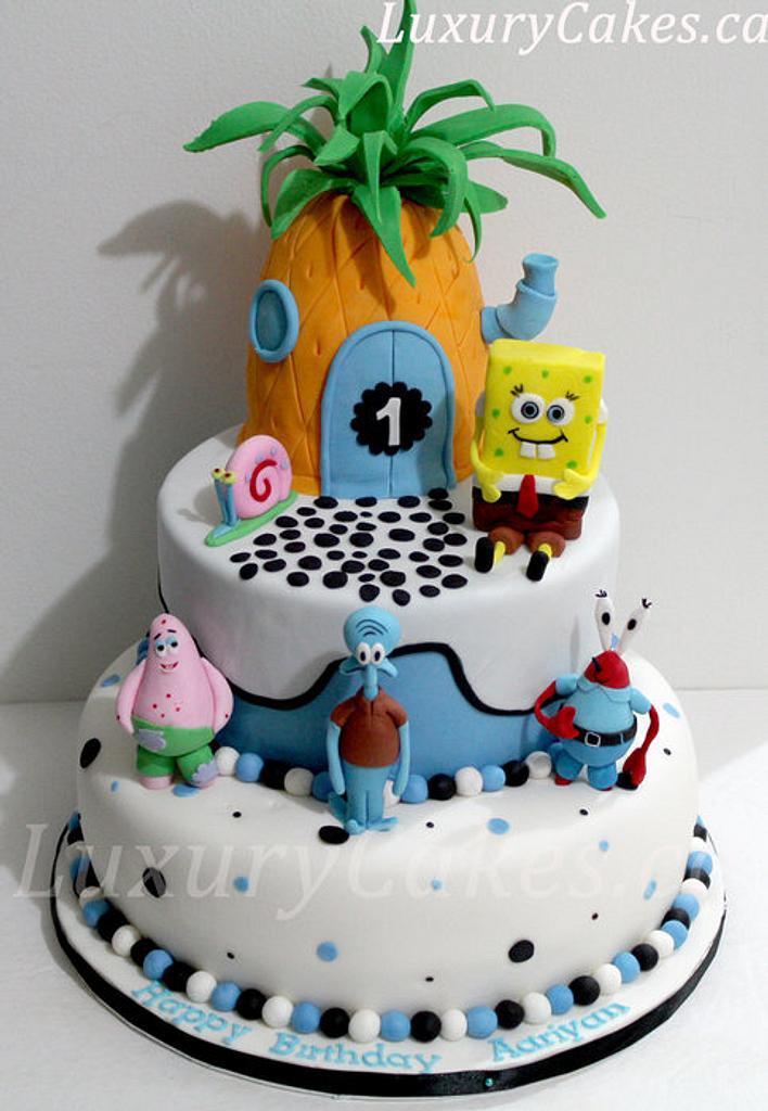 Sponge bob cake  by Sobi Thiru