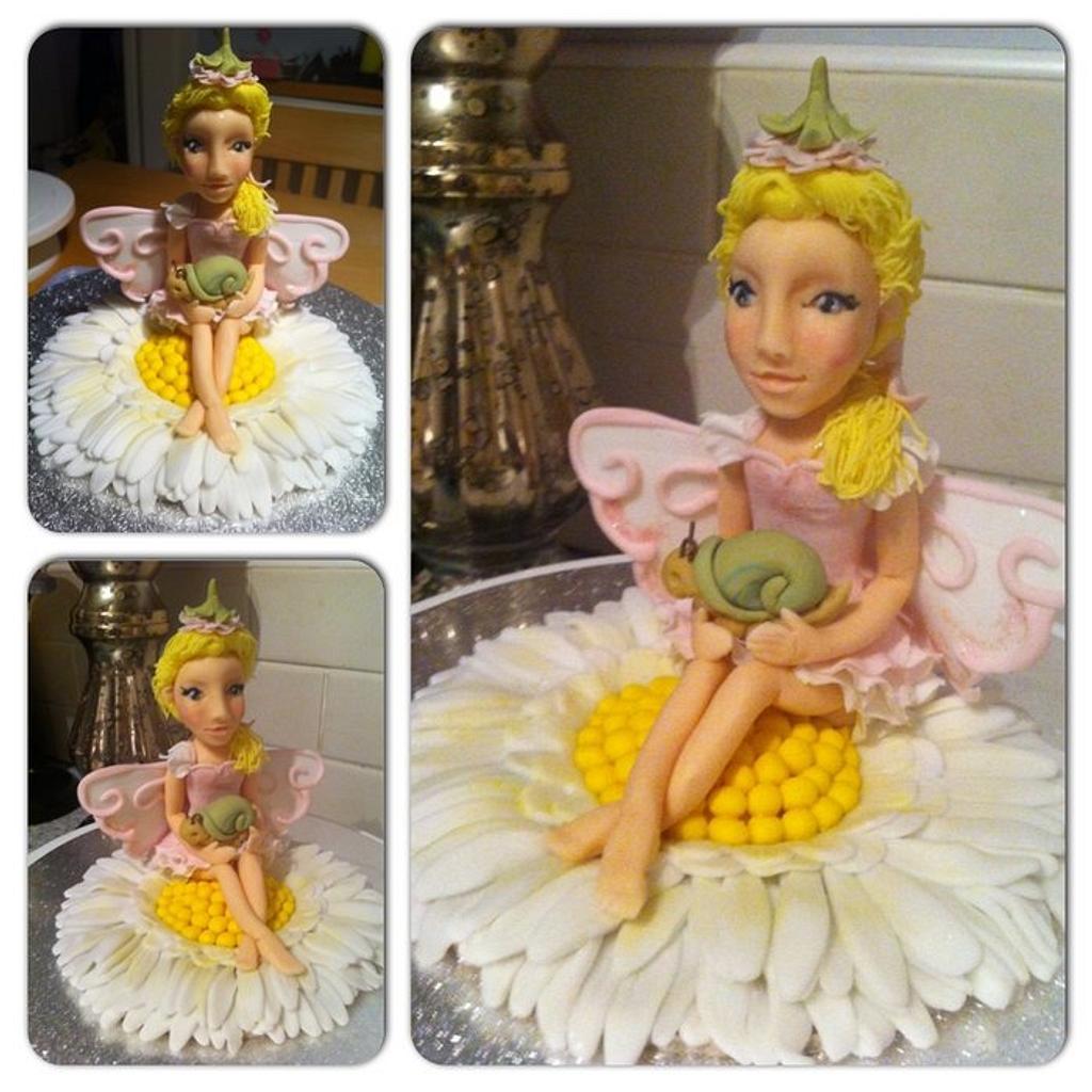 Fairy topper by Nicky Gunn
