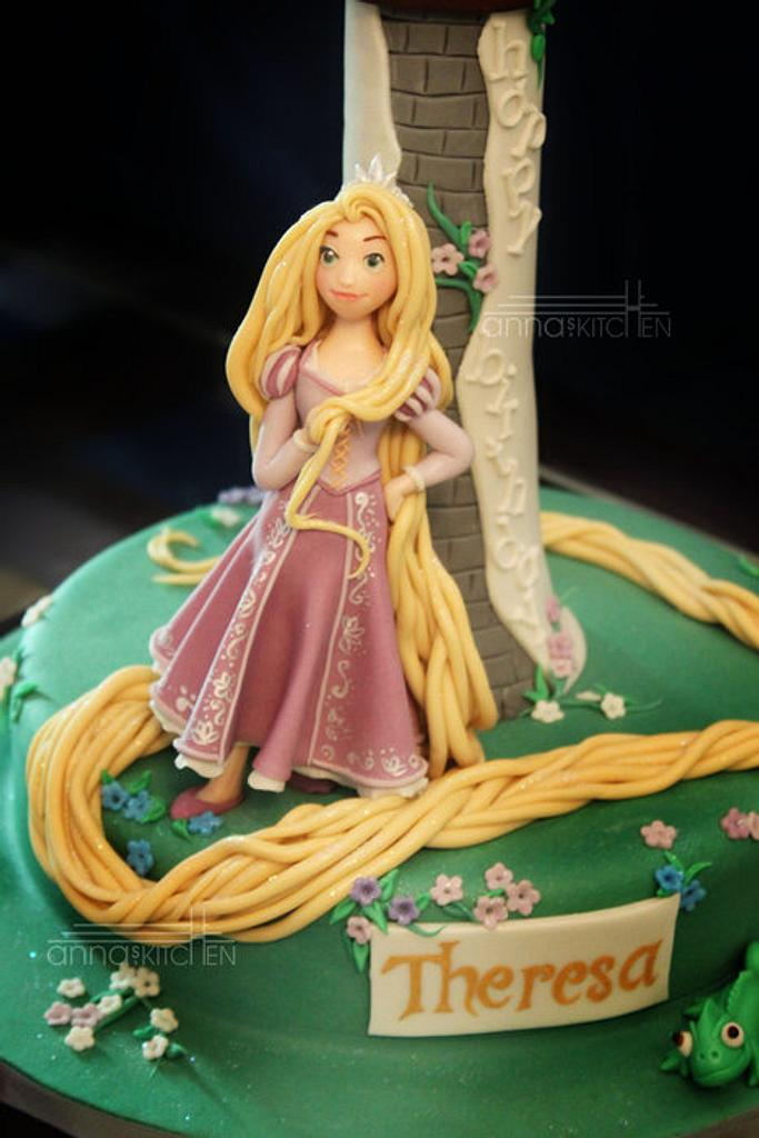 Escaped!! Rapunzel's smile says it all….. by Anna Mathew Vadayatt