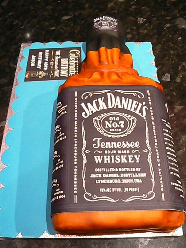 Bottle of Jack by vanillasugar
