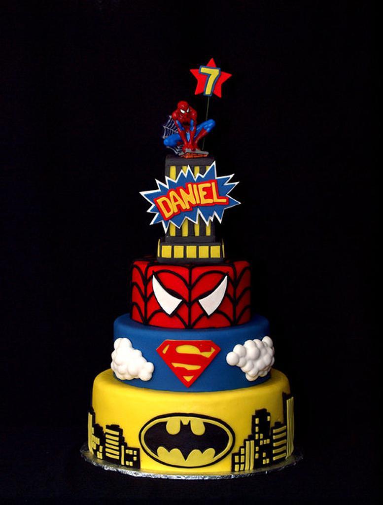 Super Hero Birthday bash by StuckOnTheFarm