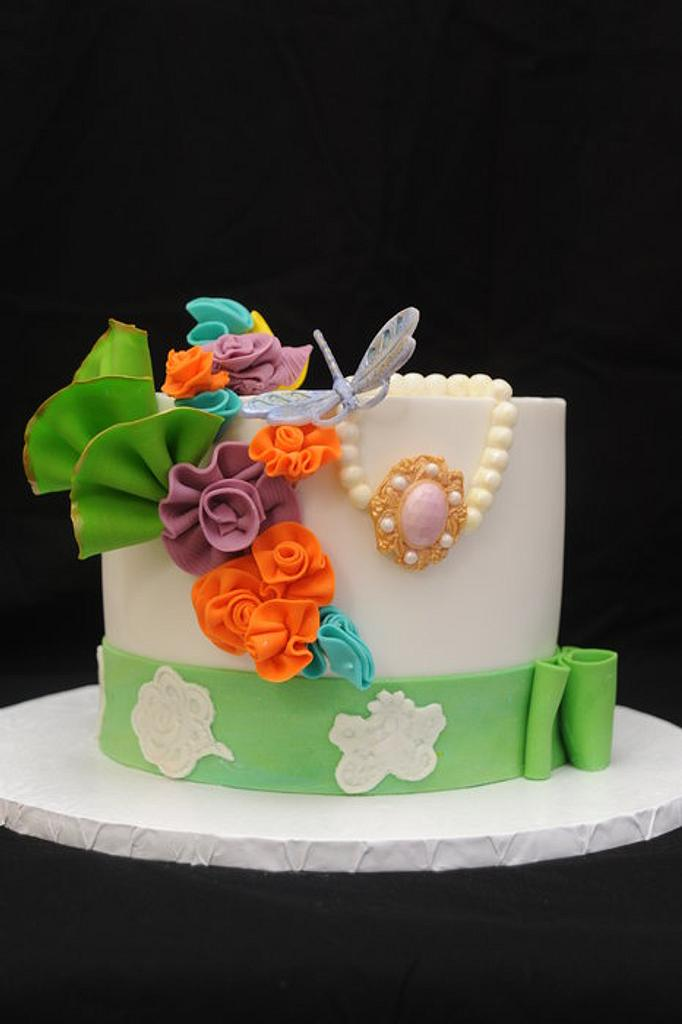 Vintage Easter Cake by Sugarpixy